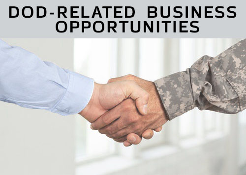 Identifying available DOD-related business opportunities.